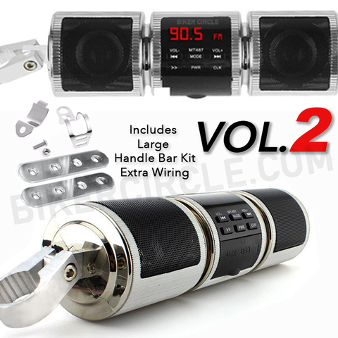 Volume 2 Bluetooth Wireless Motorcycle Speaker
