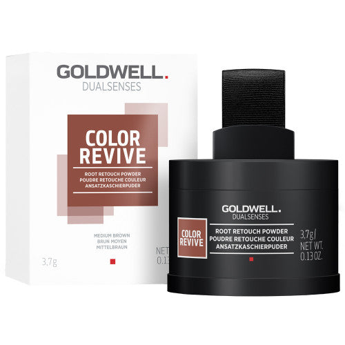 Goldwell Dualsenses Color Revive Ansatzkaschierpuder mittelbraun 3,7 g