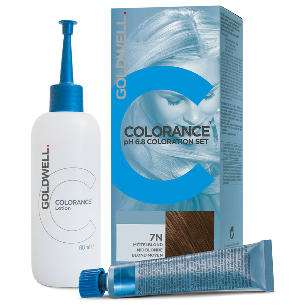 Goldwell Colorance pH 6.8 Set 7N mittelblond
