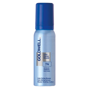 Goldwell Colorance Color Styling Mousse 7N mittelblond (Föhnschaum)
