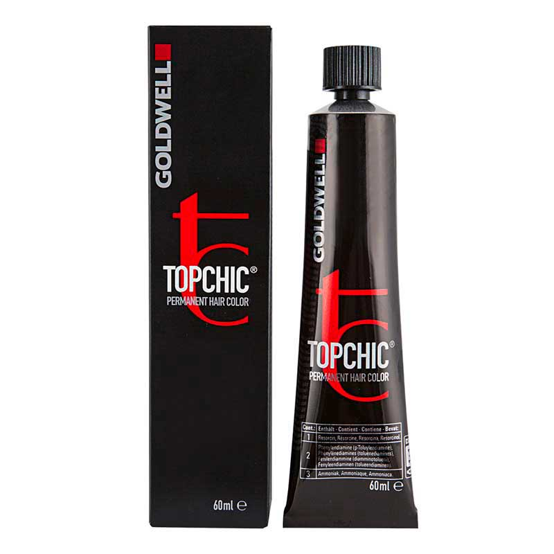 Goldwell Topchic Elumenated Tube 60 ml, Haarfarbe 6N@RV