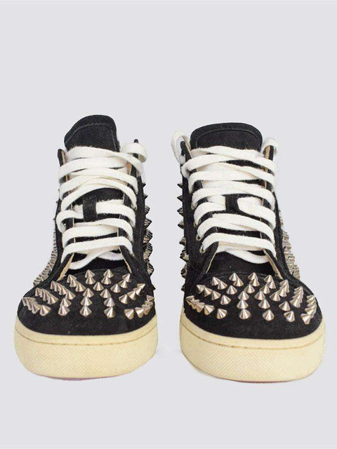 Christian Louboutin Black Spike Trainers