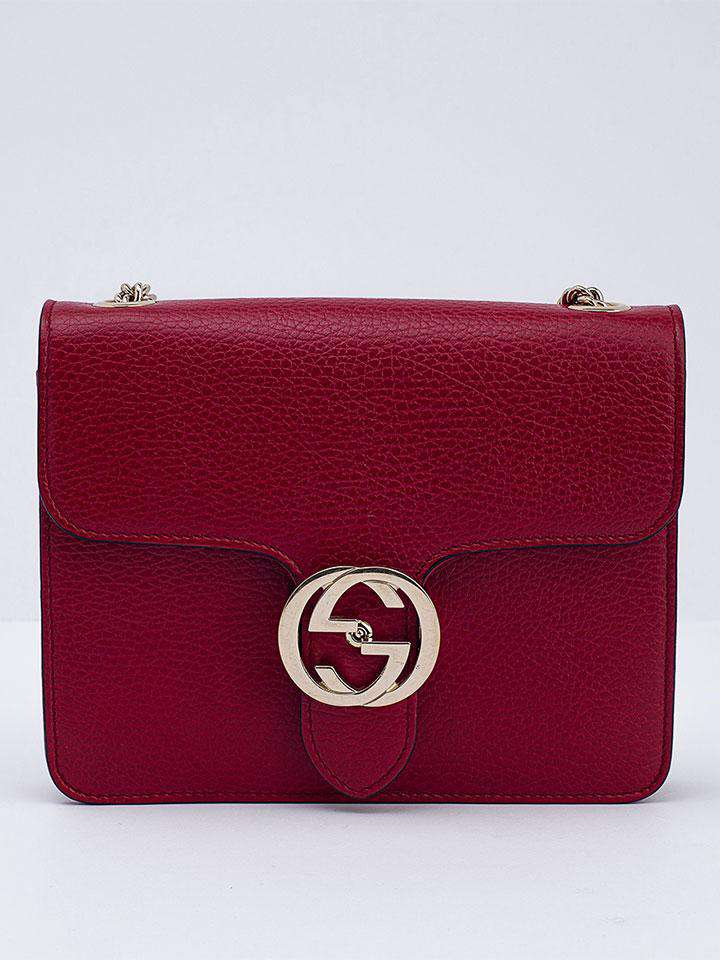 Gucci Red Shoulder Bag