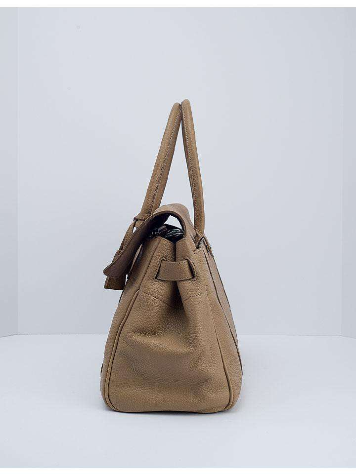Mulberry Nude Leather Bayswater Bag