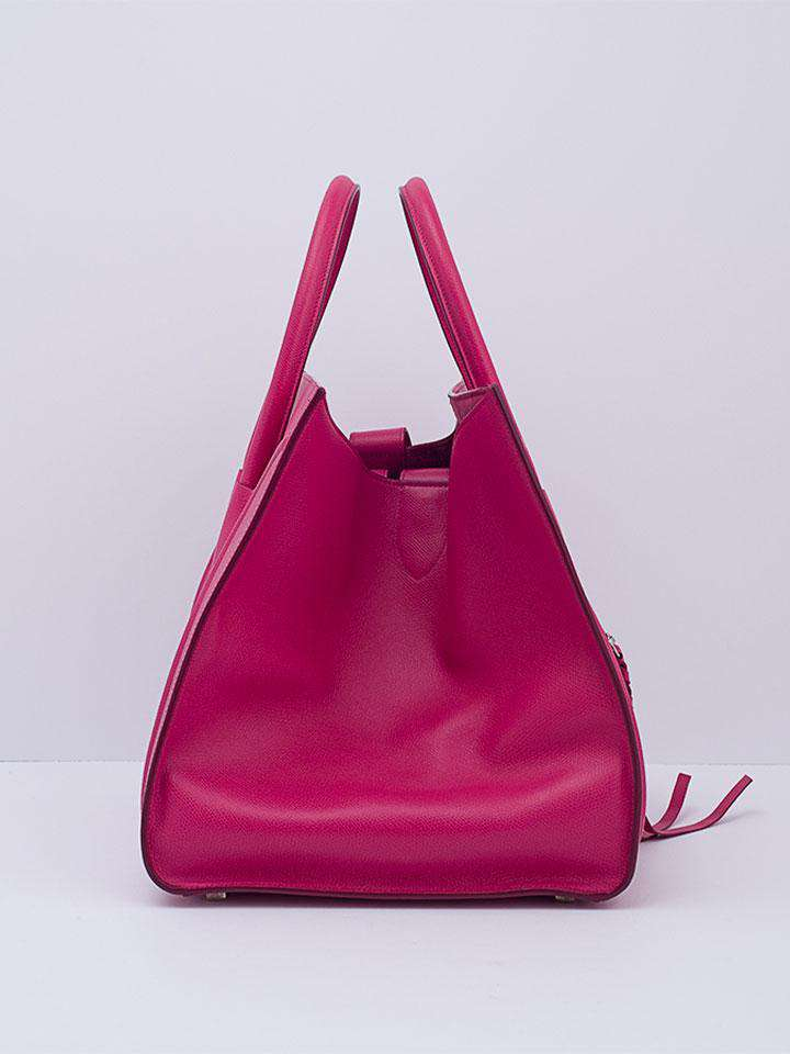 Celine Fuchsia Phantom Luggage Bag