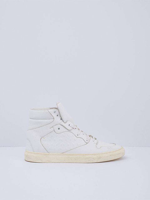 Balenciaga White High Top Sneakers