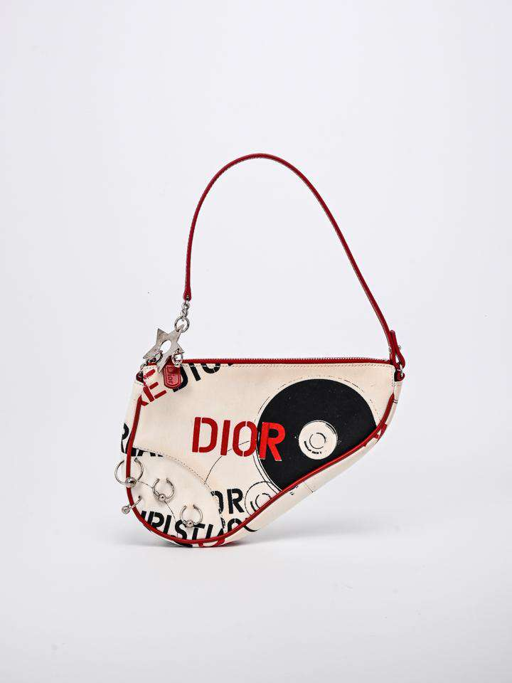 Christian Dior Hardcore Saddle Pochette Bag