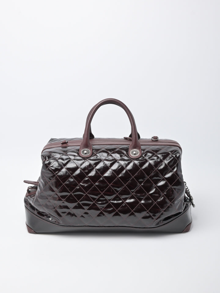 Chanel Vintage Quilted Duffle Bag