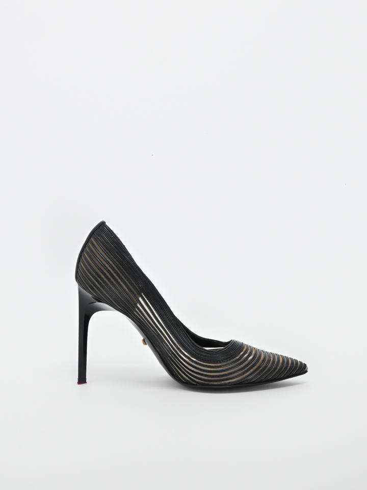 Diane Von Furstenberg Striped Pumps
