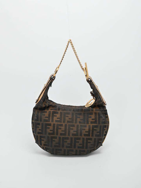 Fendi Oyster Hobo Bag