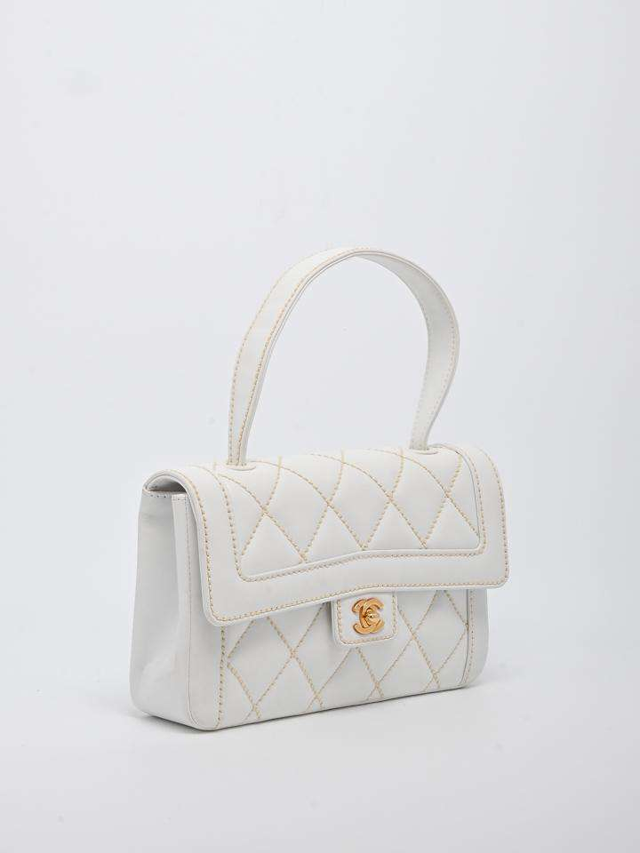 Chanel Wild Stitch Flap Top Handle Bag