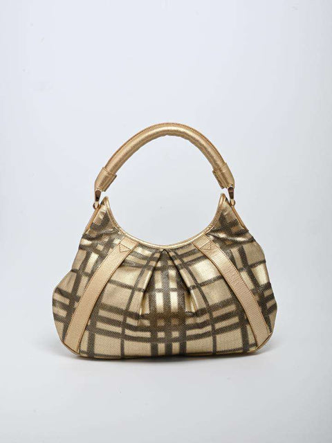 Burberry Metallic Bag