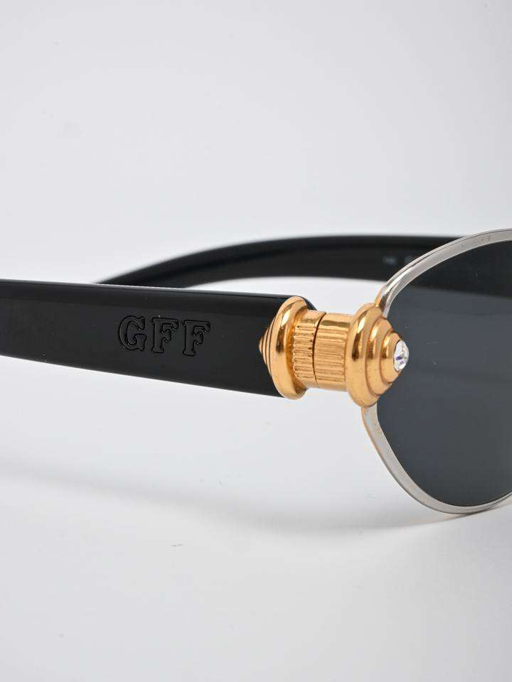Gianfranco Ferre Round Tinted Sunglasses