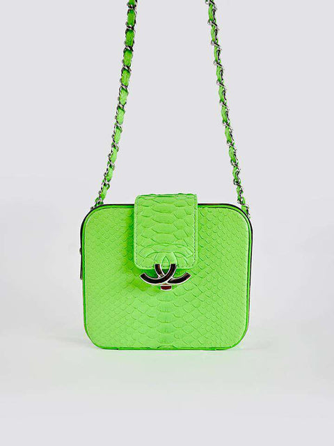Chanel Neon CC Bag