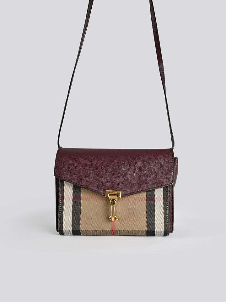 Burberry Small Check Crossbody Bag