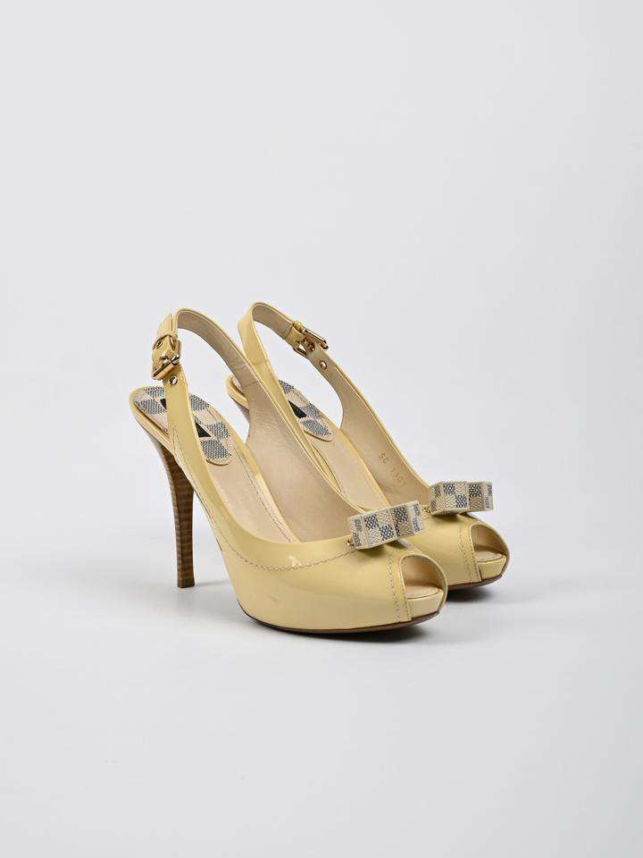 Louis Vuitton New Saint Honore Slingback Sandals