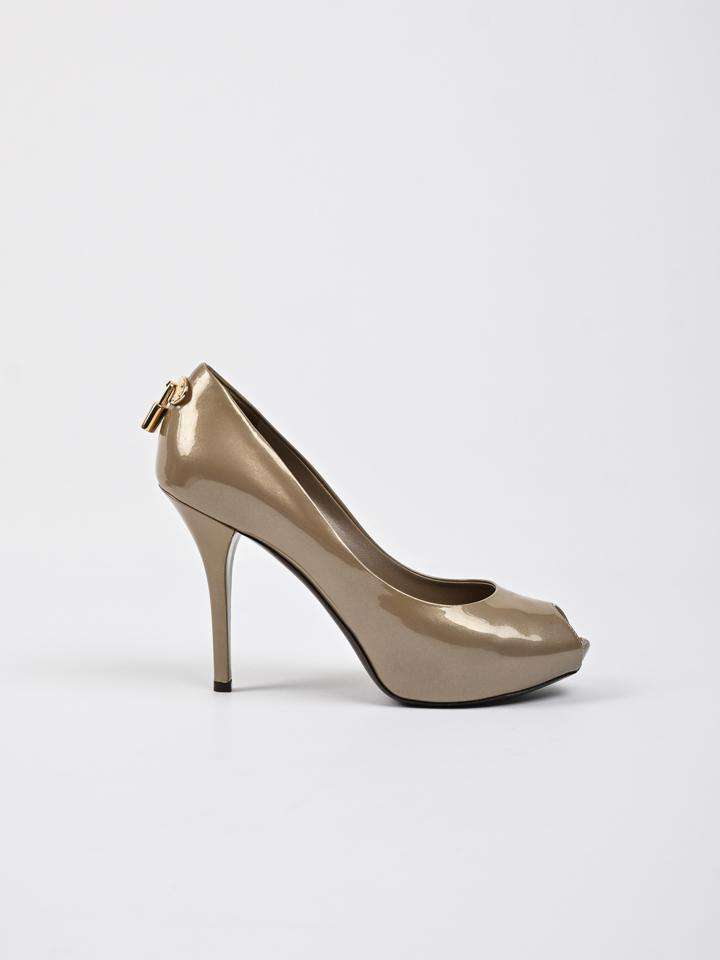 Louis Vuitton Oh Really! Peep Toe Platform Pumps