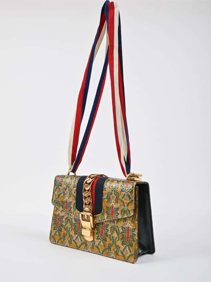 Gucci Sylvie Brocade Bag