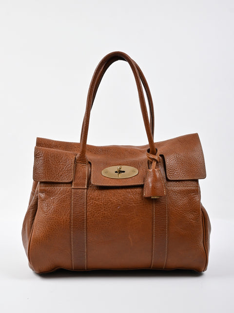 Mulberry Brown Leather Bayswater Satchel