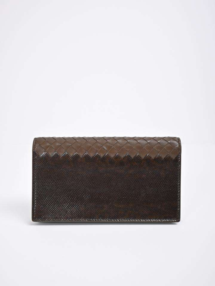Bottega Veneta Continental Flap Wallet