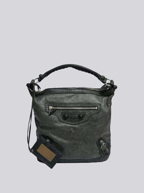 Balenciaga Giant Motocross Day Shoulder Bag