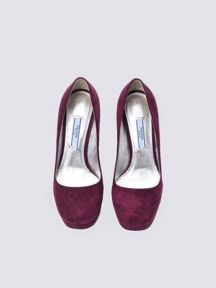 Prada Square-Toe Pumps
