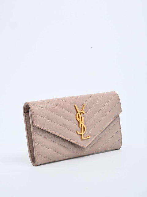 Saint Laurent Monogram Flap Wallet