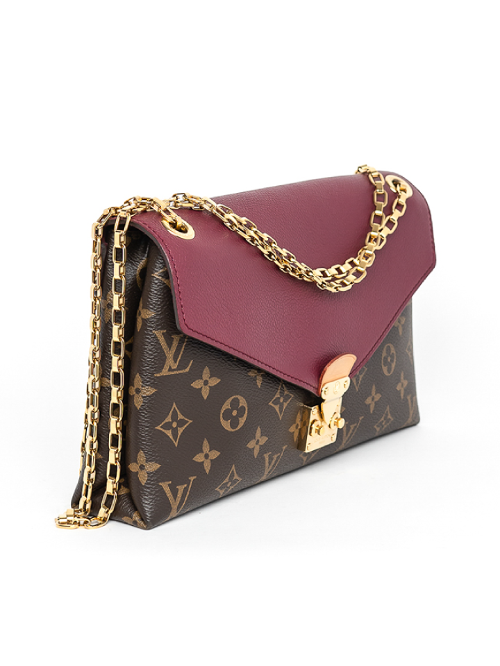 Louis Vuitton Monogram Pallas Chain Bag
