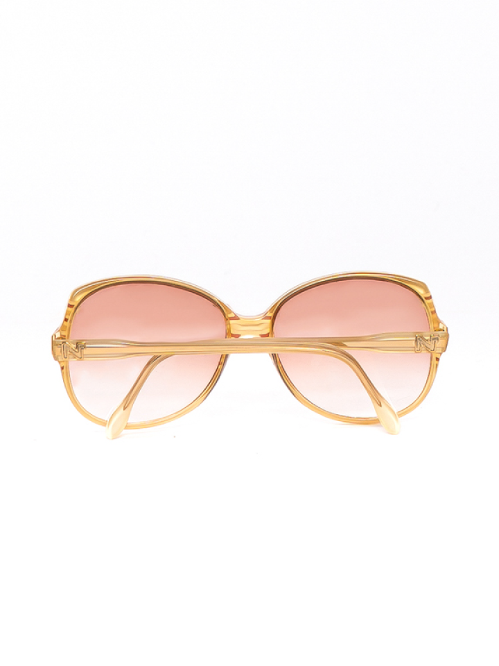 Nina Ricci Creme Frames with Rose Tinted Lenses