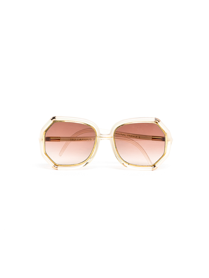 Ted Lapidus Bamboo Frame Sunglasses