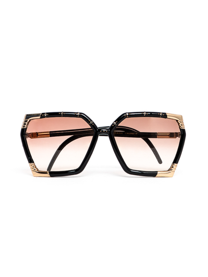 Ted Lapidus Bamboo with Gold Details Sunglasses
