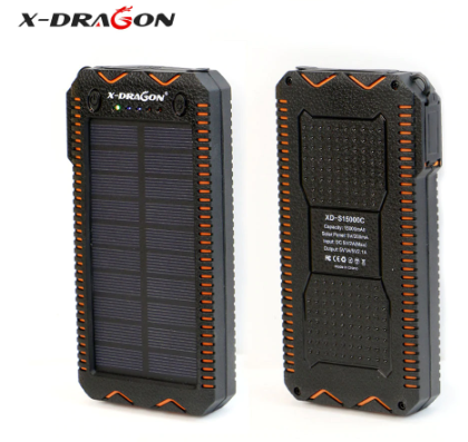 X-DRAGON Waterproof Solar Power Bank