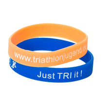 "Laden Sie das Bild in den Galerie-Viewer, Armband ""just TRI it"" Blau"