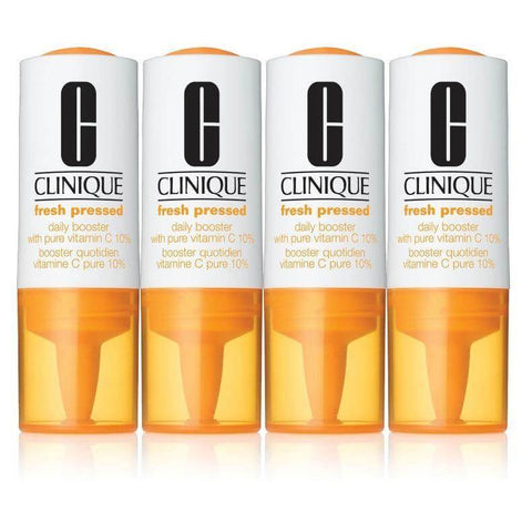 Clinique Fresh Pressed Daily Booster With Pure Vitamin C (4 pc) at MYLOOK.IE with free shipping