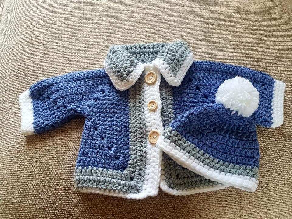 baby boy crochet clothes