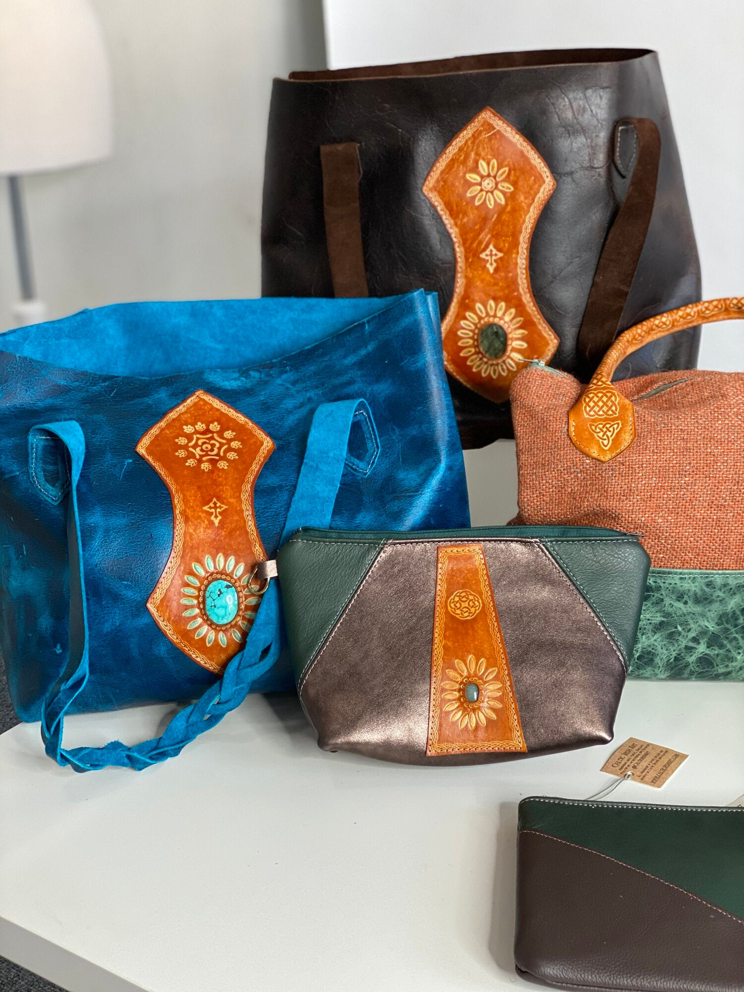 Leather bags & purses by Celtic Leather Art