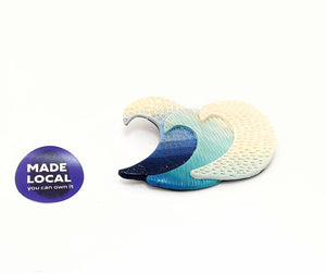 Donegal Waves Brooch