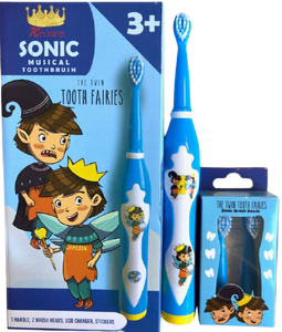The Twin Tooth Fairies Sonic Brush Heads