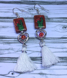 La Sabrá Tassel Earrings