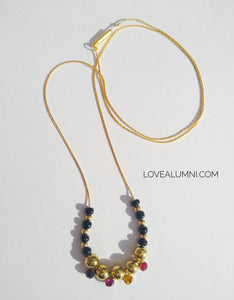 Sunset Minimal Gold Necklace
