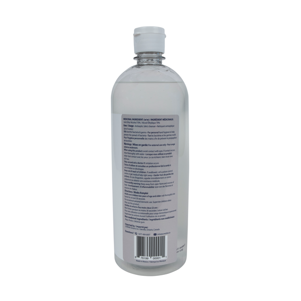Hand Sanitizer Flip Top 1L
