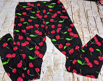 Cheery Cherry Leggings