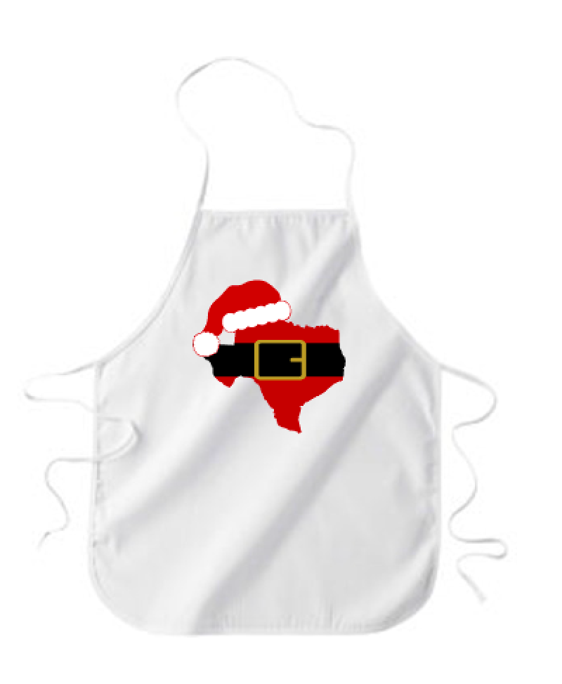 Texas Home for Holidays - Apron