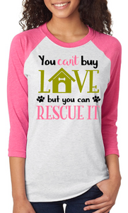 Can't Buy Love, But You Can Rescue It - Dog