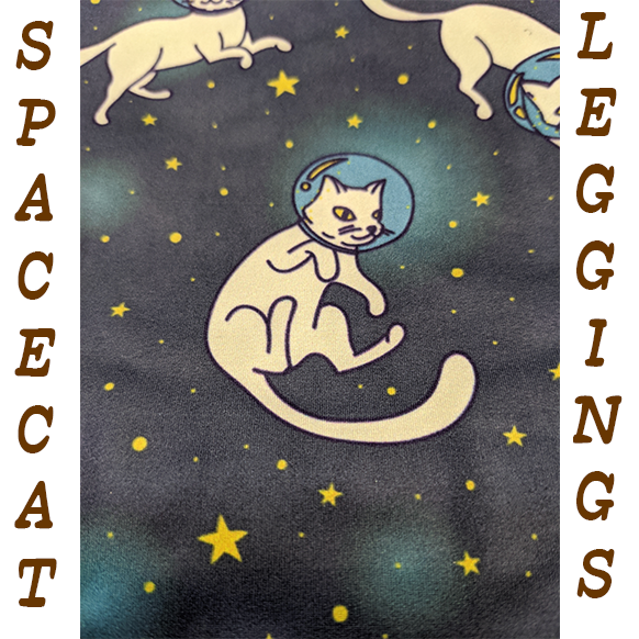 SpaceCat Leggings