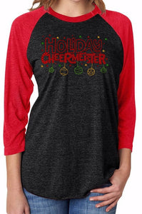 Holiday Cheermeister Raglan T-Shirt