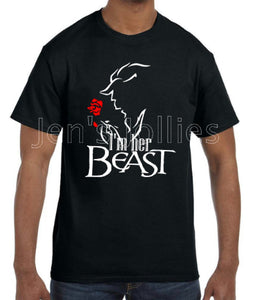 Beauty Beast Couples Shirts