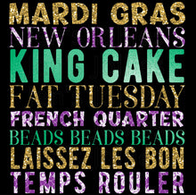 Load image into Gallery viewer, All Things Mardi Gras Unisex Tee
