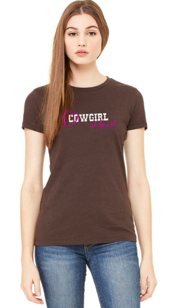 Cowgirl At Heart Women's Tee