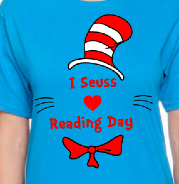I Seuss Love Reading Day Unisex Shirt